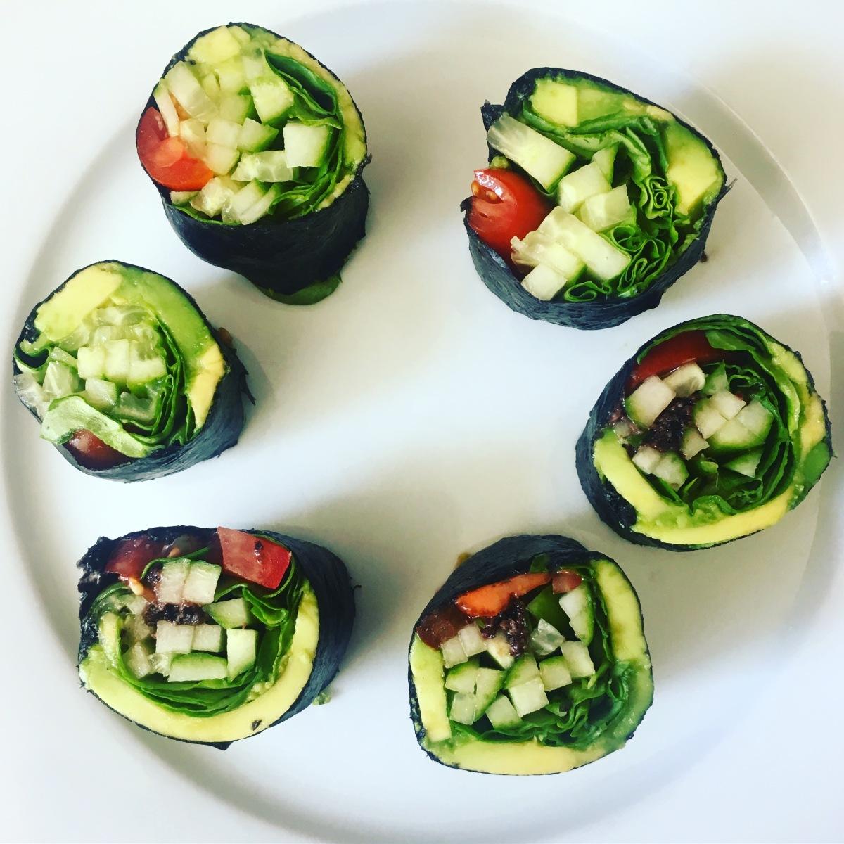 Express Veggie SushiSnack